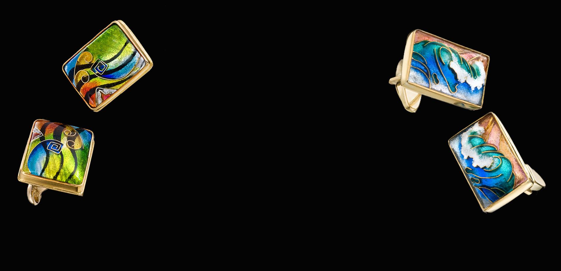 Custom Enamel Jewelry For You