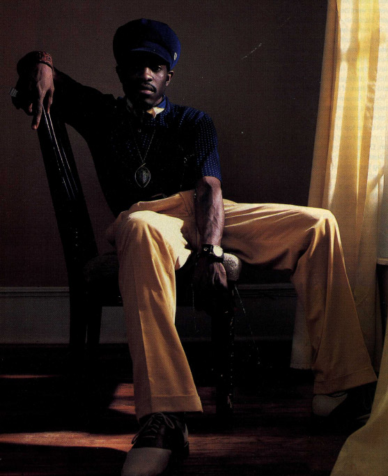 Andre 3000 - Mandrill Necklace - Hip-Hop Jewelry
