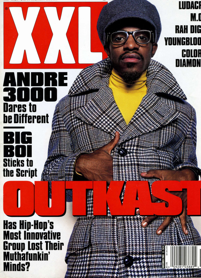 Andre 3000 - Mandrill Pendant - XXL Cover - Outkast - Patsy Croft