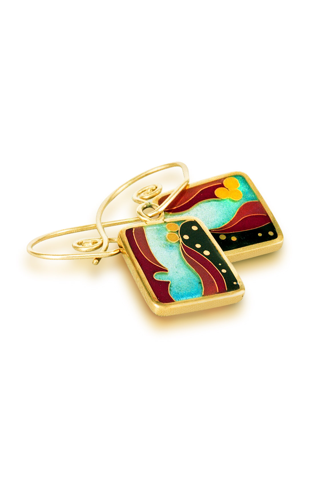 Coral Reef | Cloisonne Jewelry | Enamel Jewelry | Unique Jewelry Designs