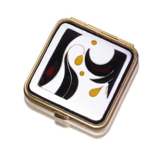 Hibiscus Travel Box | Cloisonne Jewelry | Enamel Jewelry