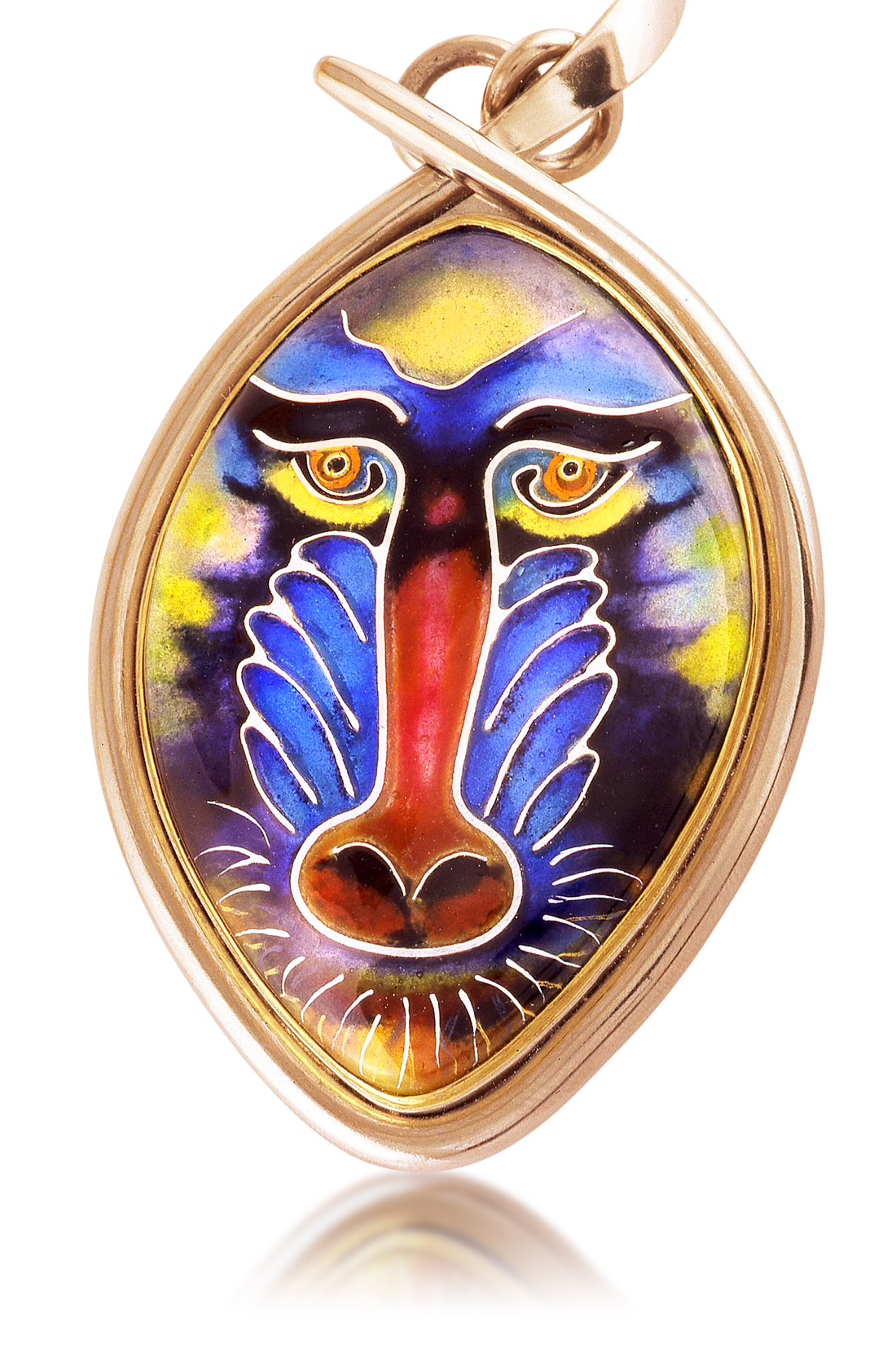 Mandrill | Cloisonne Jewelry | Enamel Jewelry | Unique Jewelry Designs