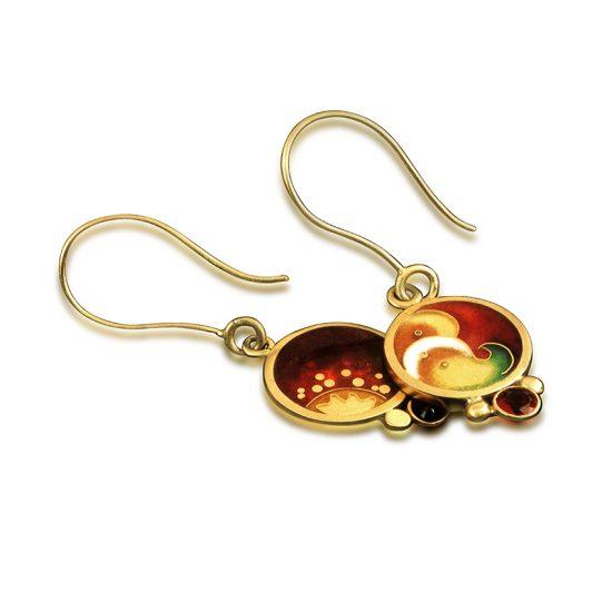 Sol Fusion | Double-sided earrings | Custom Earrings