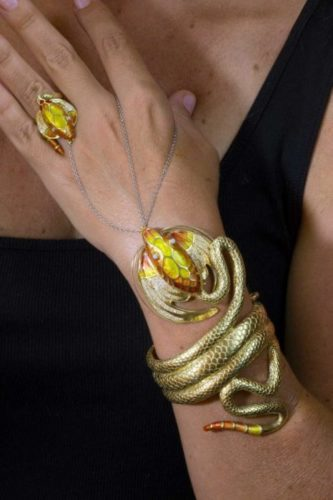 The Dragon | Enamel Jewelry | Unique jewelry designs